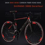 phiếu giảm giá, gearbest, SAVA Windwar Road Bike Carbon Fiber Road với SHIMANO SORA 18 speed Racing Road Bike