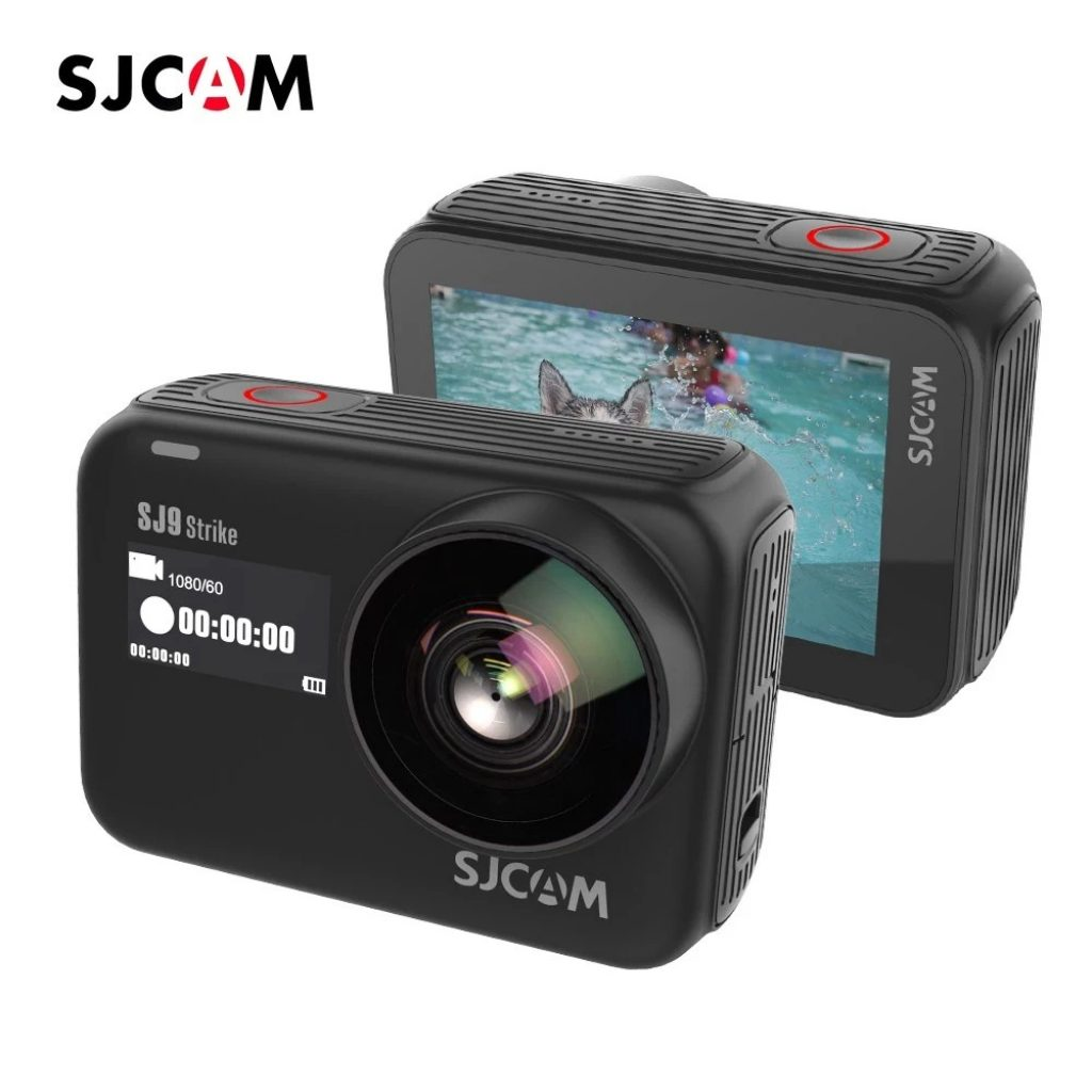 coupon, tomtop, SJCAM SJ9 Strike 4K 60fps WiFi Sports Action Camera