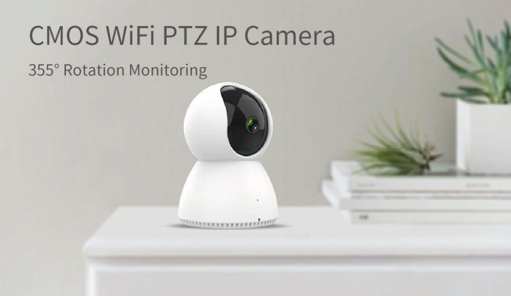 coupon, banggood, SMARTROL H.265 1080P PTZ 360° Night Version Wireless Security WIFI Onvif IP Camera Home Baby Monitors