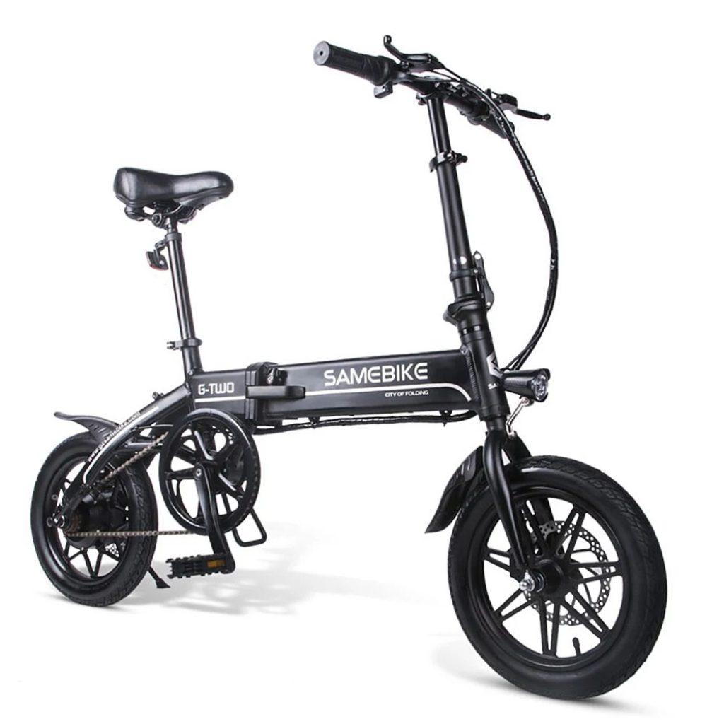 coupon, tomtop, Samebike 14 Inch Folding Electric Bike