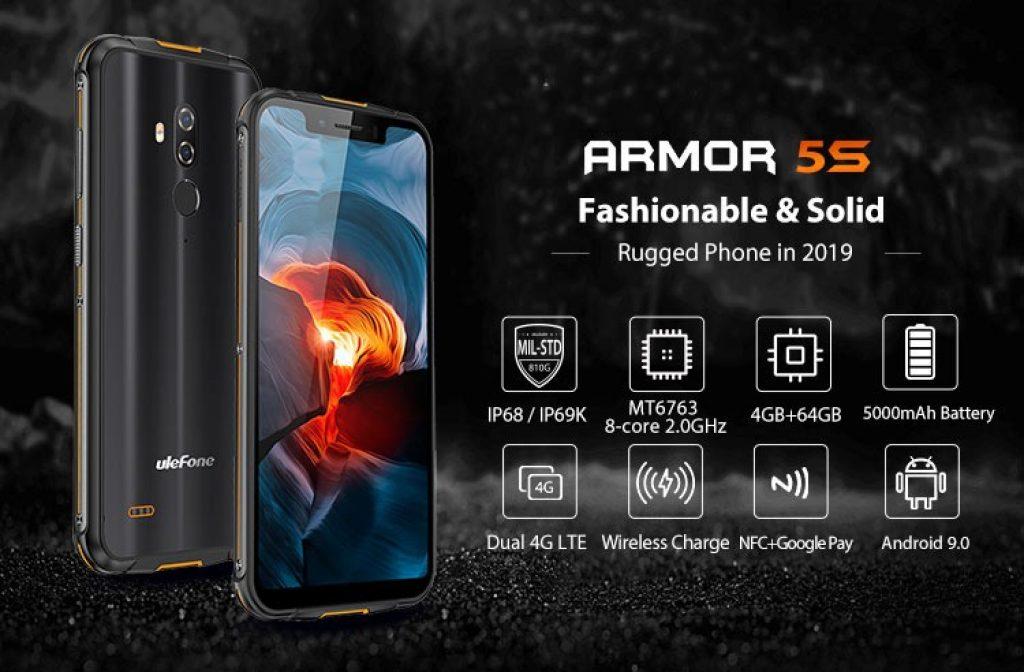 kupon, banggood, Smartphone Ulefone Armor 5S