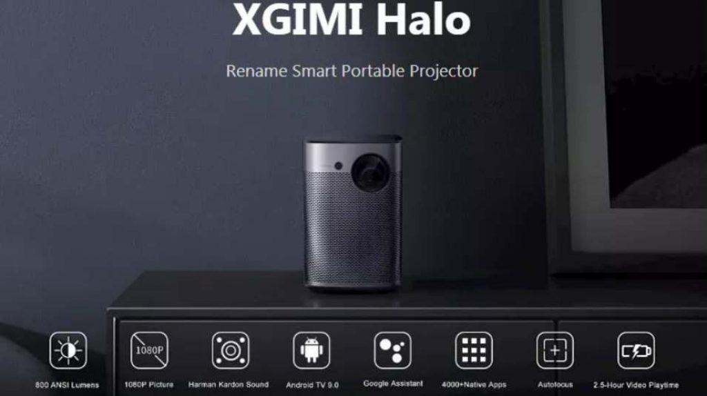 coupon, banggood, XGIMI Halo DLP Projector
