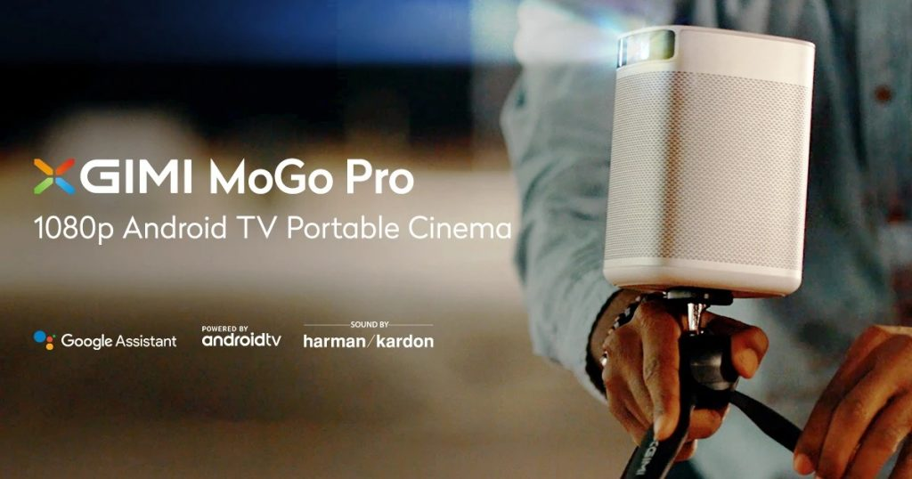 coupon, banggood, XGIMI Mogo Pro Smart Full HD 1080P Portable Projector