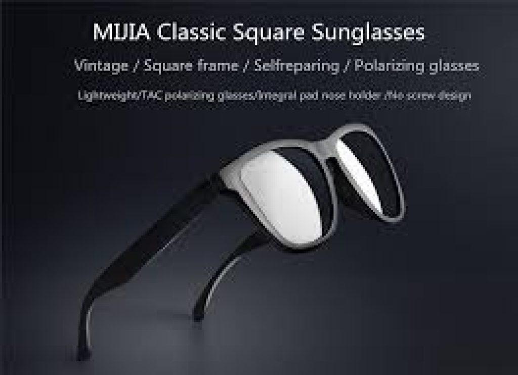 coupon, banggood, XIAOMI Mijia Classic Square Sunglasses