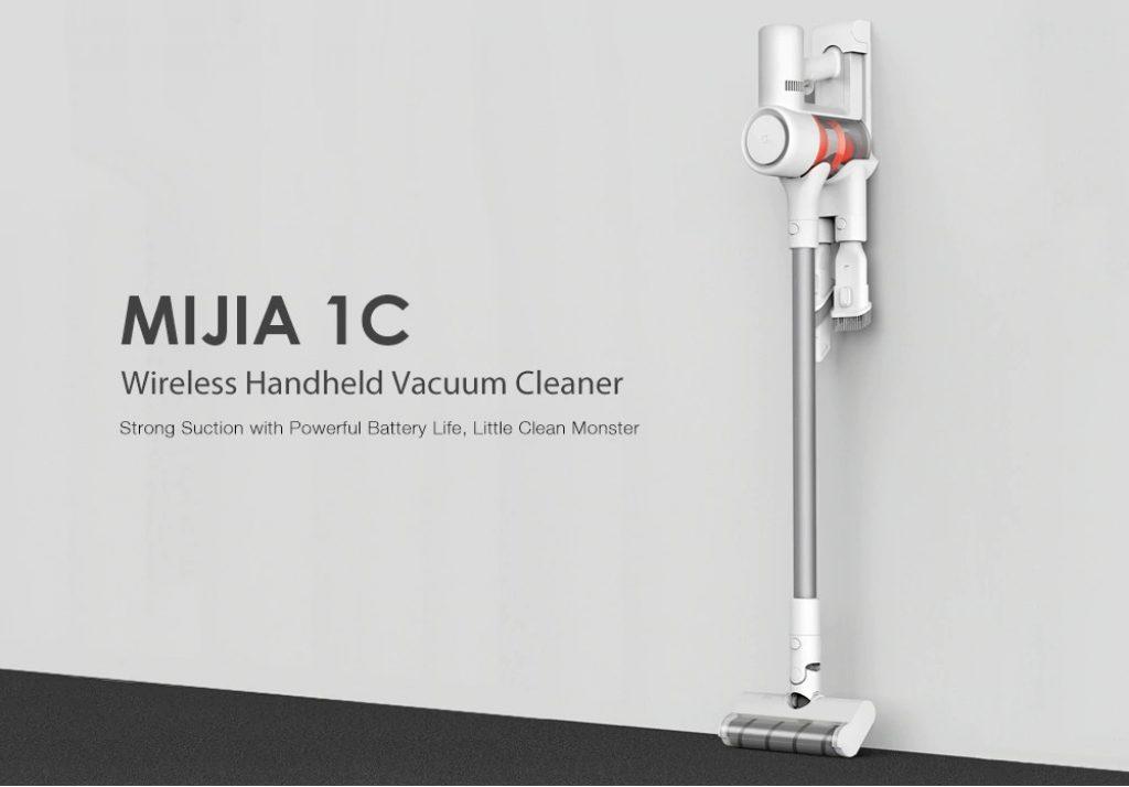 tomtop, coupon, gearbest, Xiaomi MIJIA 1C Wireless Handheld Vacuum Cleaner