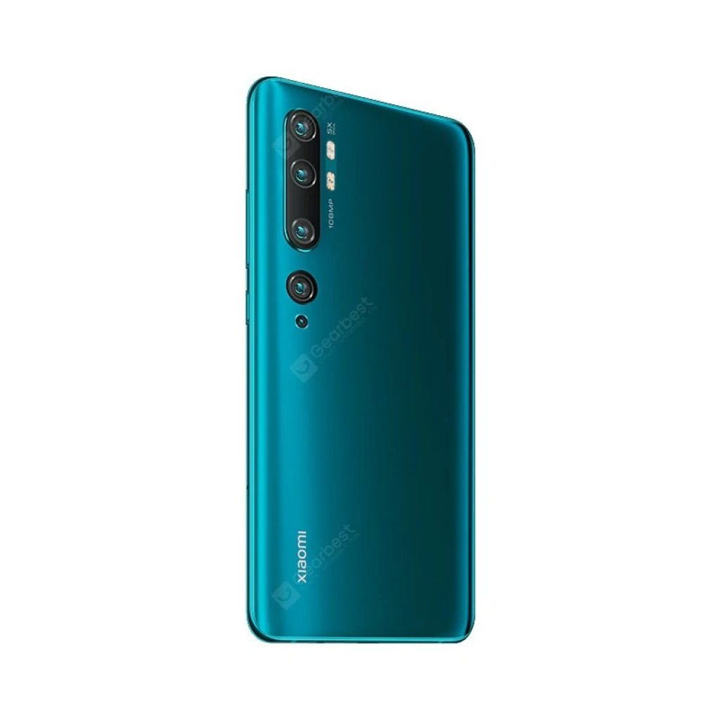 cupom, banggood, Xiaomi Mi Note 10 (CC9 Pro) 108MP Penta Camera Phone verde