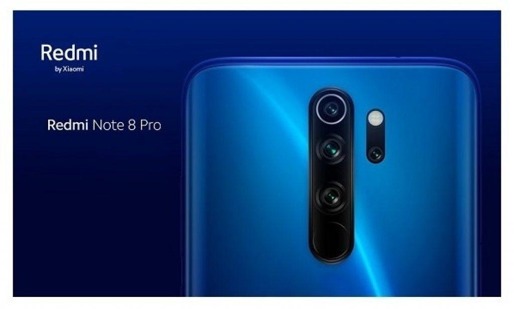 kupon, gearbest, Xiaomi Redmi Note 8 Pro Smartphone blu