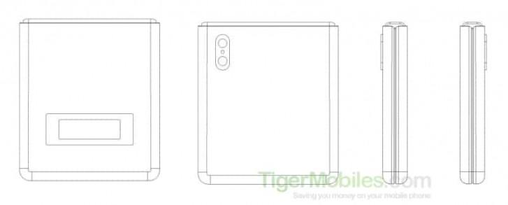 Sklopný smartfón s flip-type Xiaomi (1)