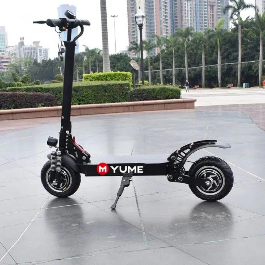 クーポン、banggood、YUME YM-D5 52V 2400Wデュアルモーター23.4Ah折りたたみ電動スクーター
