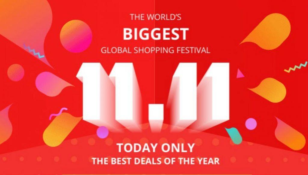 kupong, banggood, gearbest, singeldags shoppingfestival