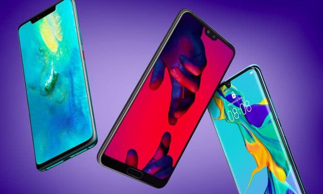 Huawei's smartphone shipments