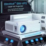 kupón, náramok, LCD projektor Blitzwolf® BW-VP2