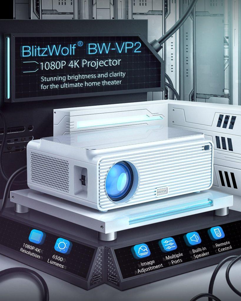 купон, шишање, Блитзволф® БВ-ВП2 ЛЦД пројектор