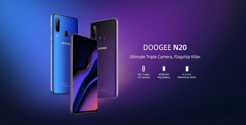 قسيمة ، gearbest ، DOOGEE N20 الهاتف الذكي
