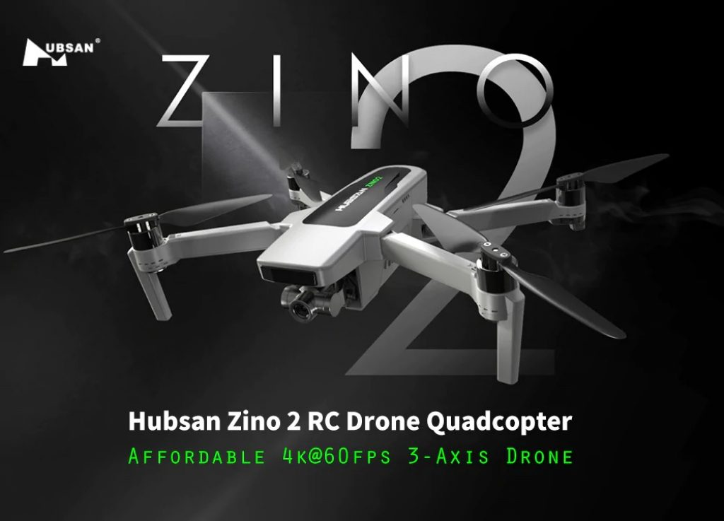 coupon, gearbest, Hubsan Zino 2 LEAS 2.0 GPS 6KM FPV with 4K-60fps UHD Camera 3-axis Gimbal RC Drone Quadcopter