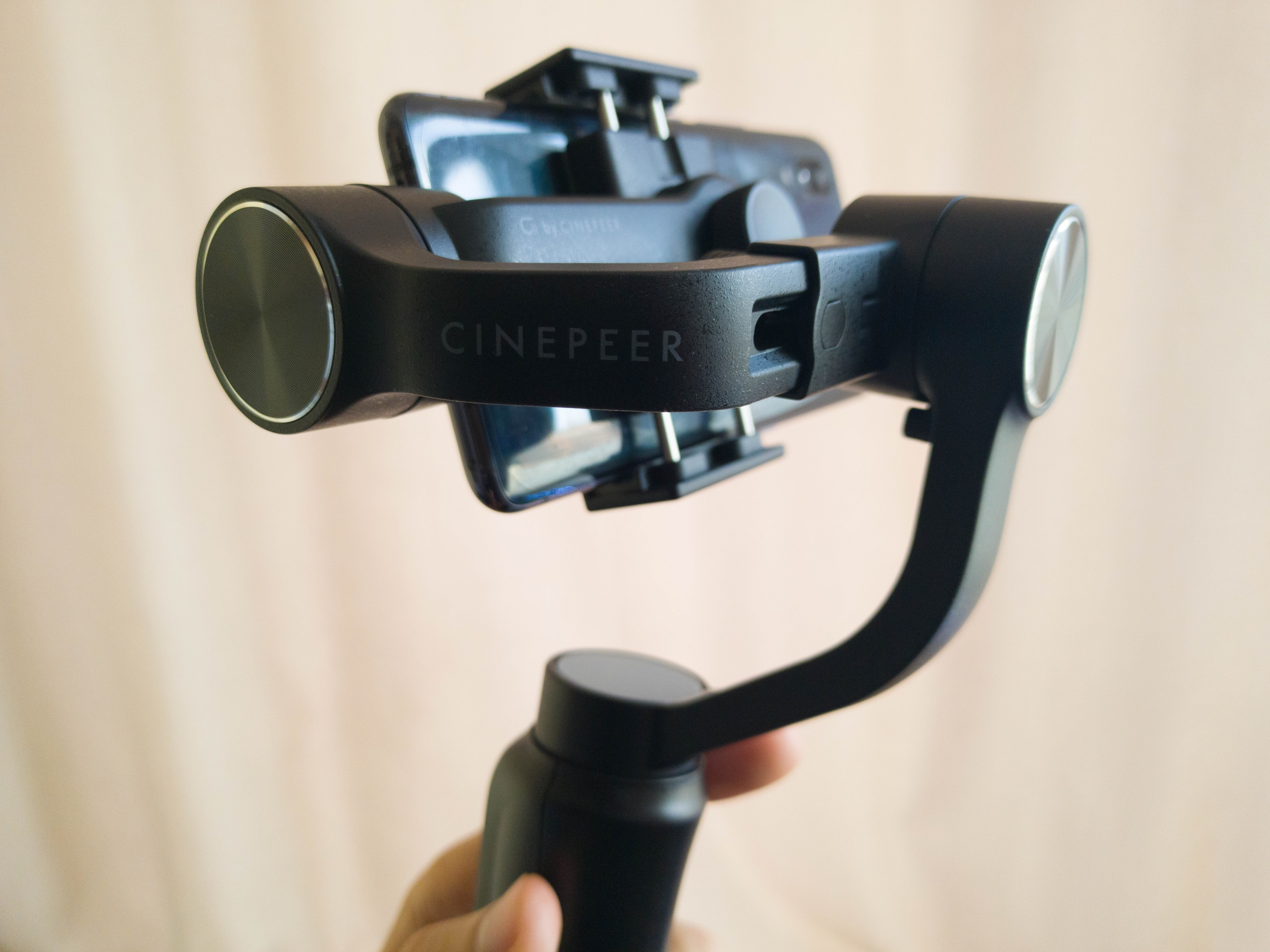Cinepeer C11 av Zhiyun Gimbal Review