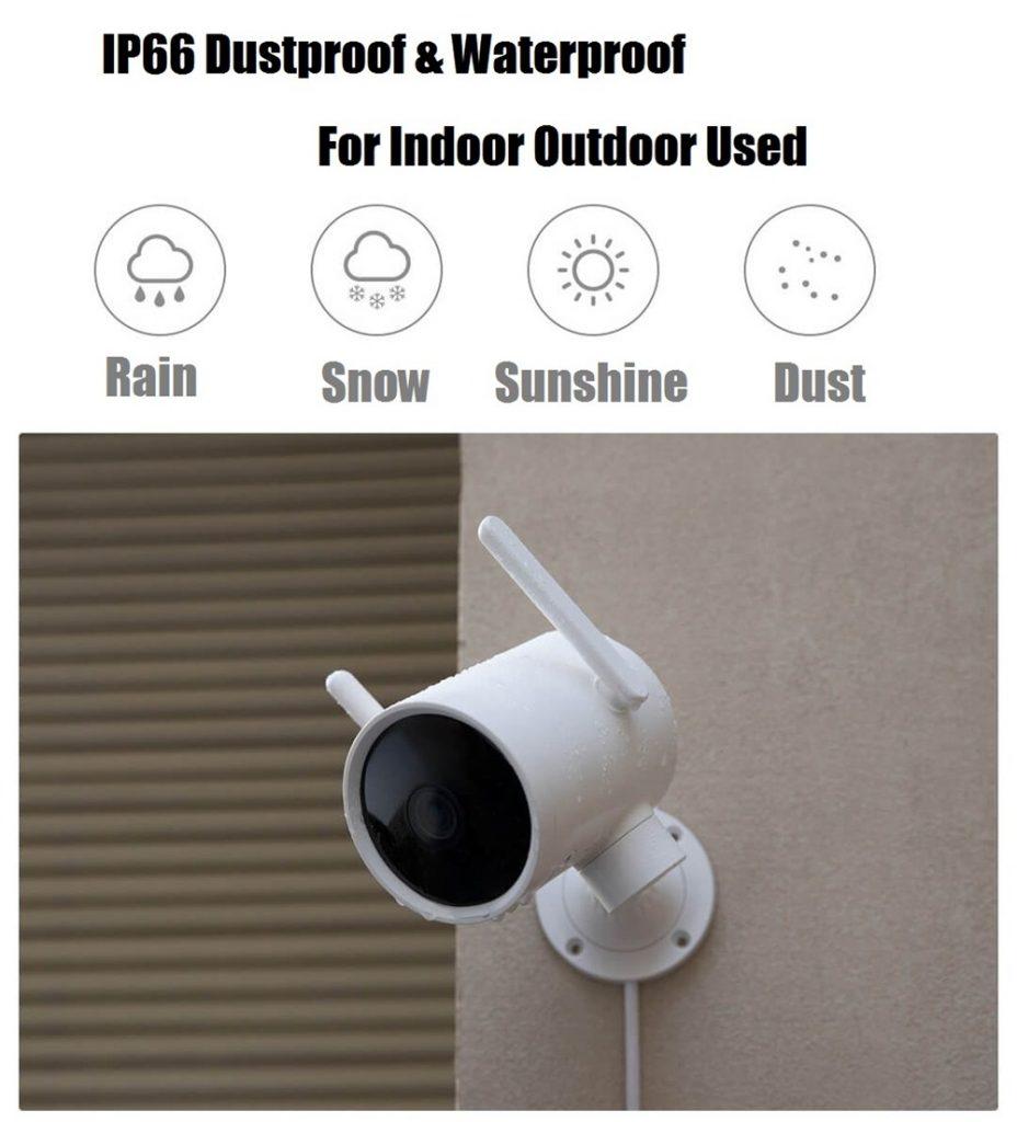 kupong, banggood, IMILAB N2 Fra Xiaomi Eco-system 270 ° IP66 1080P Smart utendørs IP-kamera