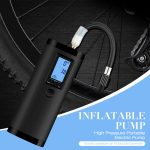 القسيمة ، gearbest ، مضخة نفخ ارتفاع ضغط المحمولة دراجة نارية الكهربائية مقياس
