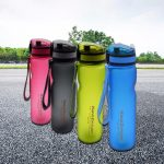 coupon, banggood, KANGZHIYUAN 1000ml Large Sports Bottle Gym Fitness PC Water Bottle BPA Free Travel Drinking Cup