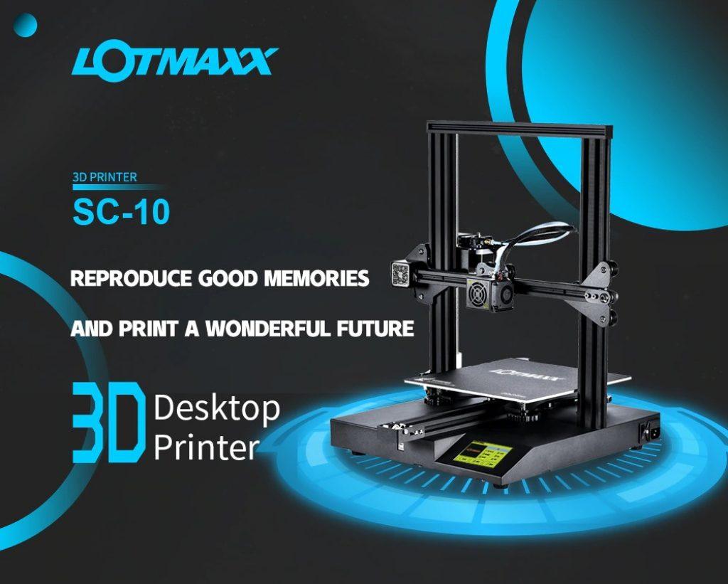 kupon, gearbest, LOTMAXX SC-10 Build Volume 235x235x280mm Desktop 3D Printer