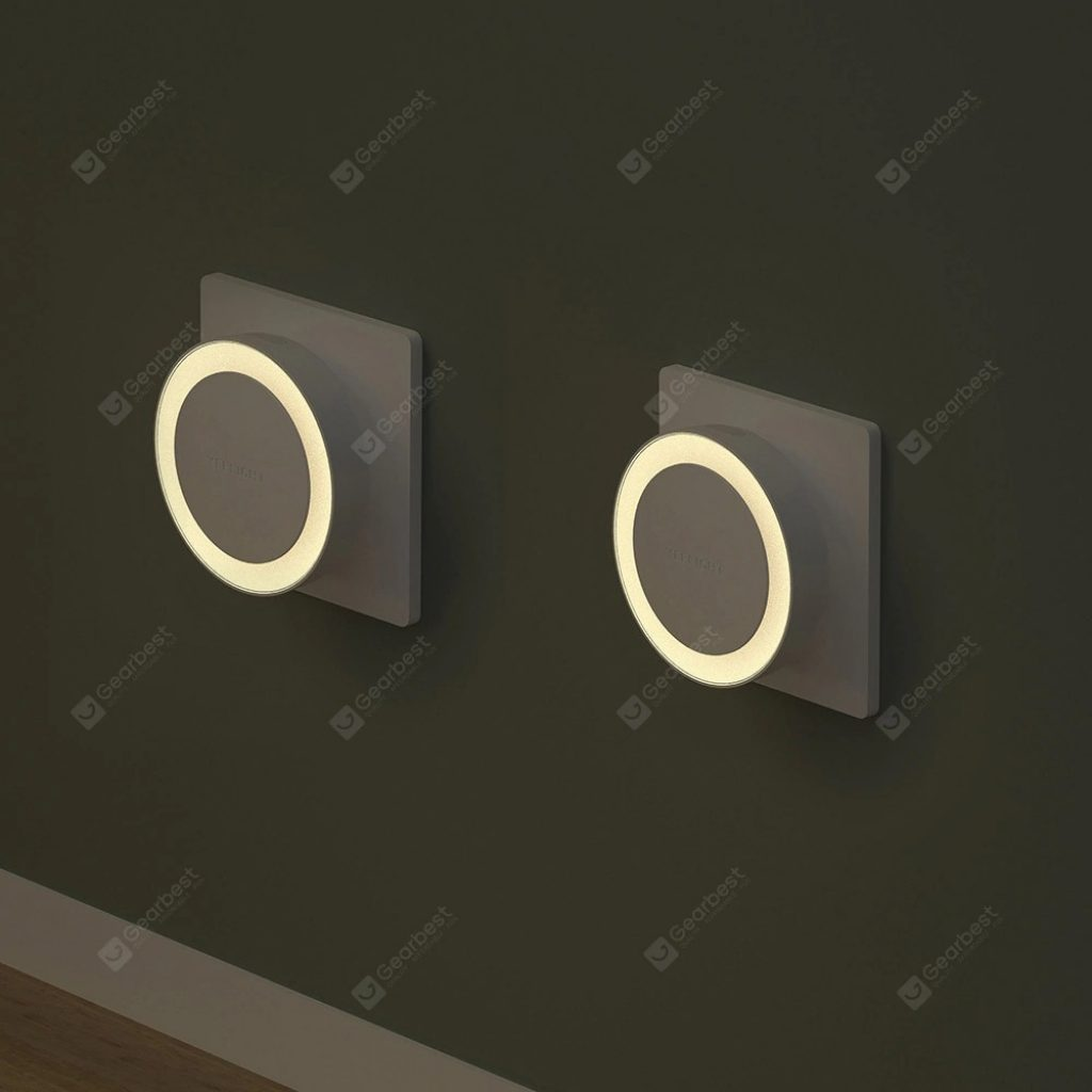 coupon, gearbest, Yeelight YLYD11YL Light Sensor Plug-in LED Nightlight International Version ( Xiaomi Ecosystem Product )