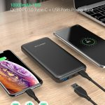 cupom, banggood, BlitzWolf® BW-P9 10000mAh 18W QC3.0 PD3.0 Tipo-c + portas USB Power Bank