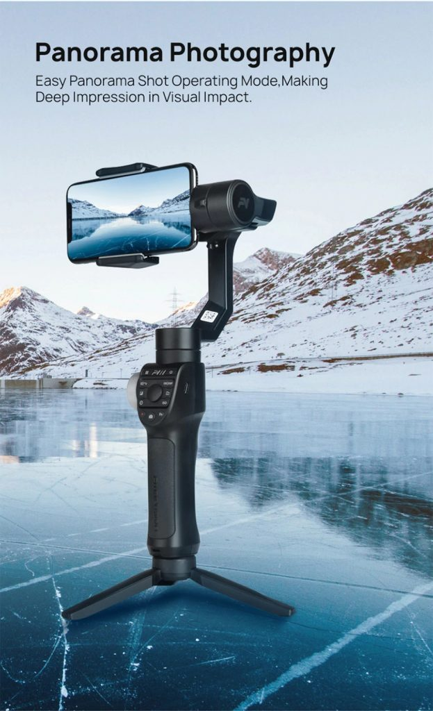 coupon, banggood, Freevision Vilta M Pro 3-Axis Handheld Gimbal Stabilizer for Smartphone Action Camera