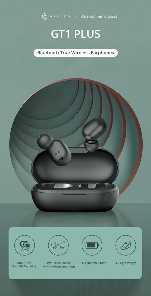 쿠폰, Banggood, Haylou GT1 Plus TWS 블루투스 5.0 이어폰