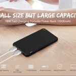 coupon, gearbest, Mini 18W Two-way Fast Charge Portable Power Bank 10000mAh 2-port Output USB Battery Charger with Status Indicator Light from Xiaomi youpin