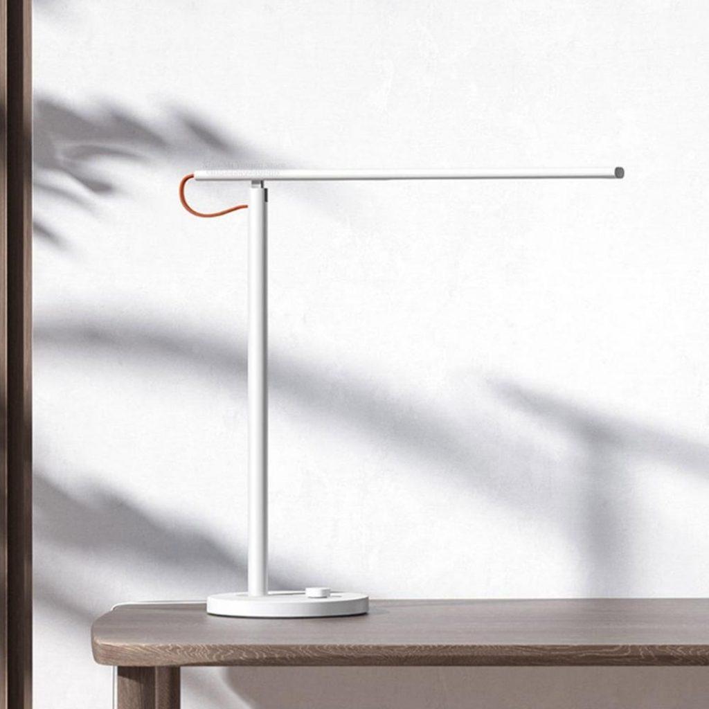 kupón, náramek, Xiaomi Mijia MJTD01SYL 9W Inteligentní stolní stolní lampa 1S 4 světelné režimy ztlumení čtení světlo APP ovládání