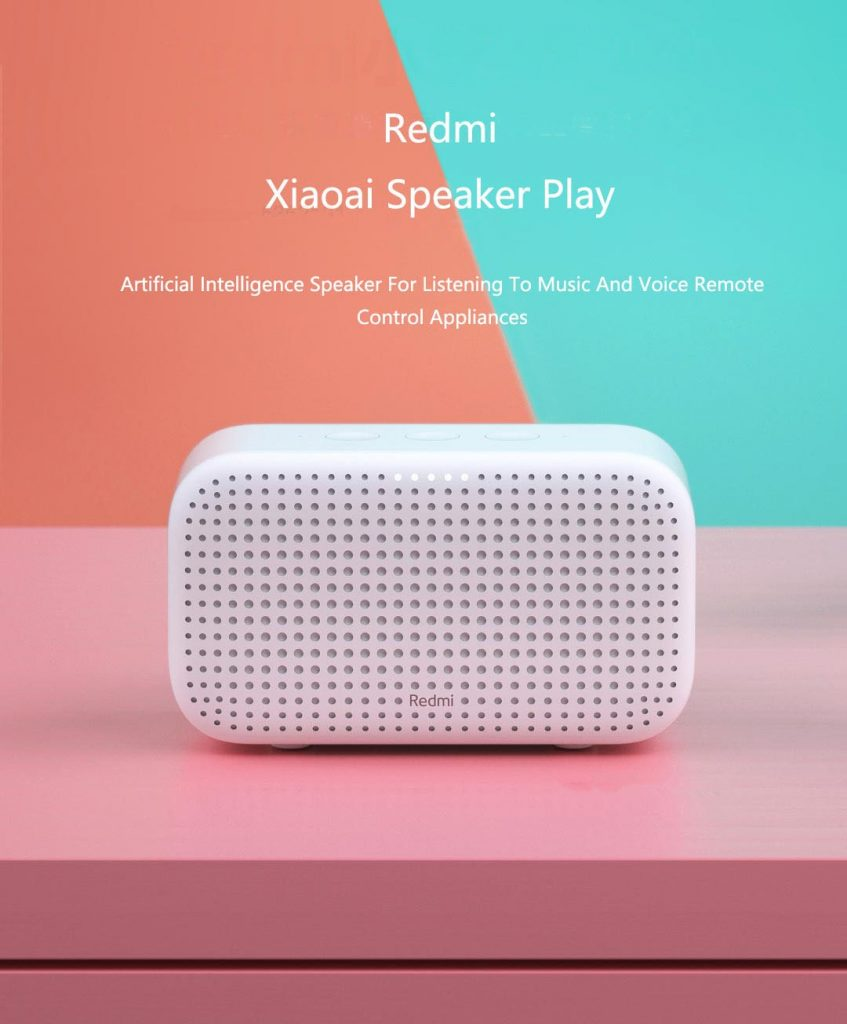 coupon, banggood, Xiaomi Redmi Xiao AI bluetooth Speaker Play Smart Home Voice Control Music Player Gateway Mi Speaker for iOS Android
