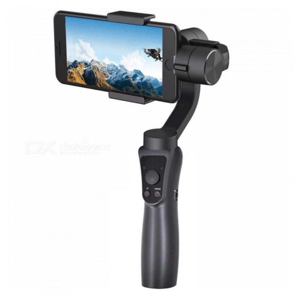 coupon, banggood, Jcrobot S5 3-Axis Handheld bluetooth Gimbal Stabilizer For Smartphones & GoPro Hero Action Camera