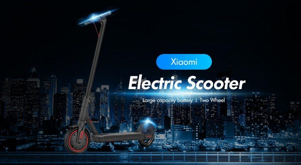 القسيمة ، gearbest ، XIAOMI عجلتين سكوتر الكهربائية