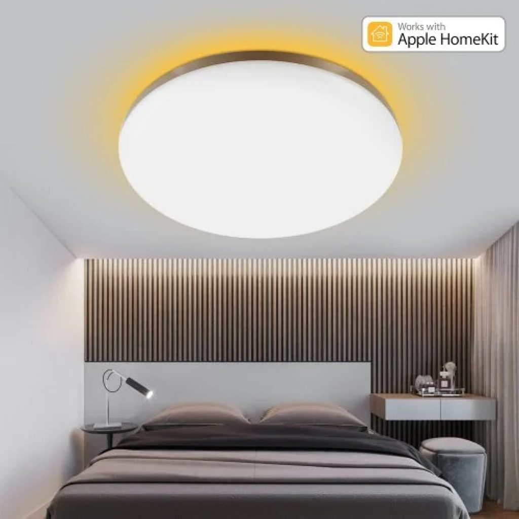 coupon, banggood, YEELIGHT GUANGCAN YLXD50YL 220V 50W Surrounding Ambient Lighting LED Ceiling Light Upgrade Version Dimmable APP Control Supports HomeKit (Xiaomi Ecosystem Product)