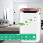 купон, бангод, аутоматски временски прочисћавач ваздуха подесиви ХЕПА филтер са 3 брзине негативног иона
