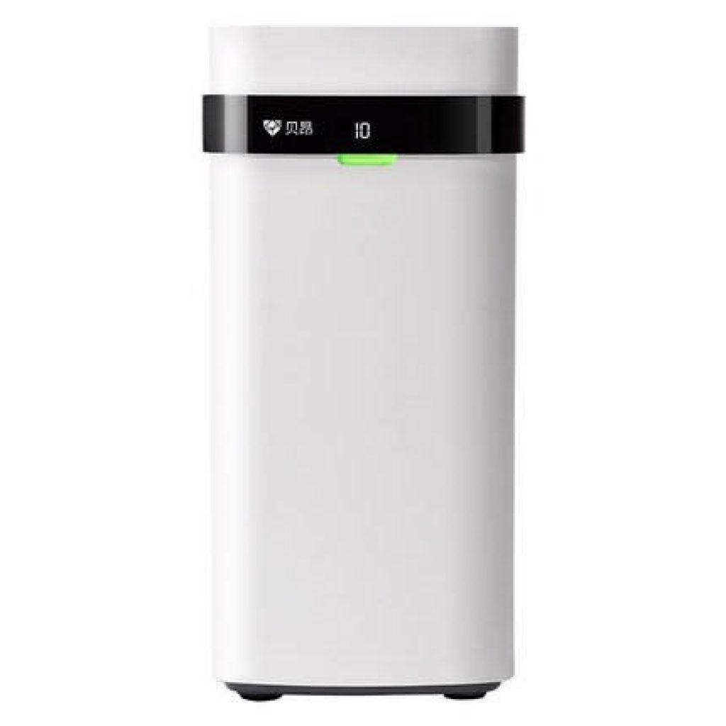 쿠폰, Banggood, Beiang LED 디스플레이 소비 자 연기 먼지 독특한 냄새 청소기 공기 청정기 홈 주방 XIAOMI Youpin에서