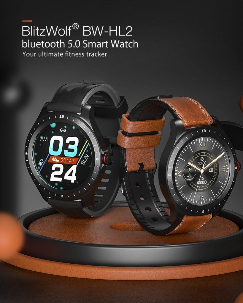 쿠폰, Banggood, BlitzWolf® BW-HL2 Smart 시계