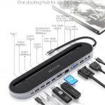 쿠폰, Banggood, BlitzWolf® BW-TH9 12-in-1 USB-C 도킹 스테이션 12 포트 USB 3.0 허브 USB 어댑터 변환기