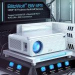 cupom, banggood, projetor Blitzwolf® BW-VP3