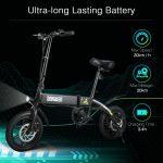 קופון, gearbest, DOHIKER אופניים מתקפלים אופניים חשמליים טוסטוס מתקפלים