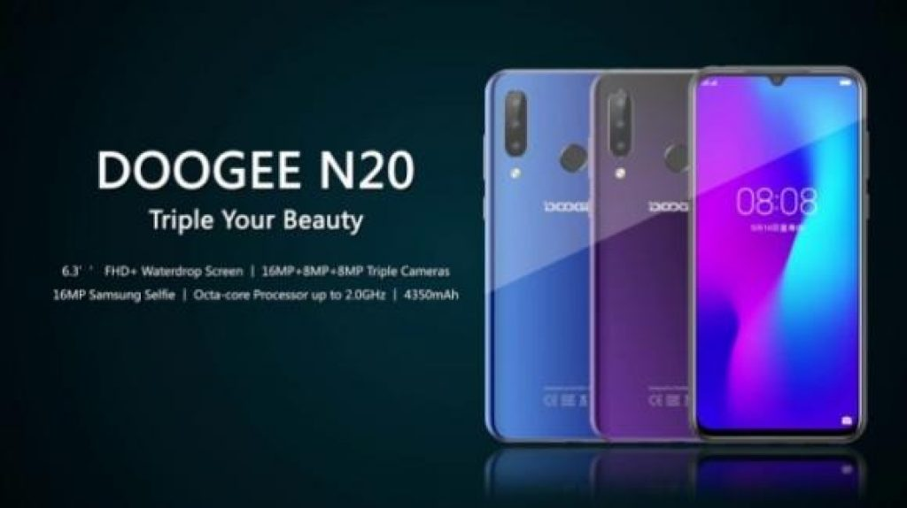 cupom, banggood, DOOGEE N20 Smartphone
