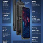 kupón, náramek, chytrý telefon DOOGEE S95