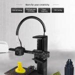 cupom, gearbest, EcubMaker TOYDIY 4-em-1 Impressora 3D FDM Laser CNC