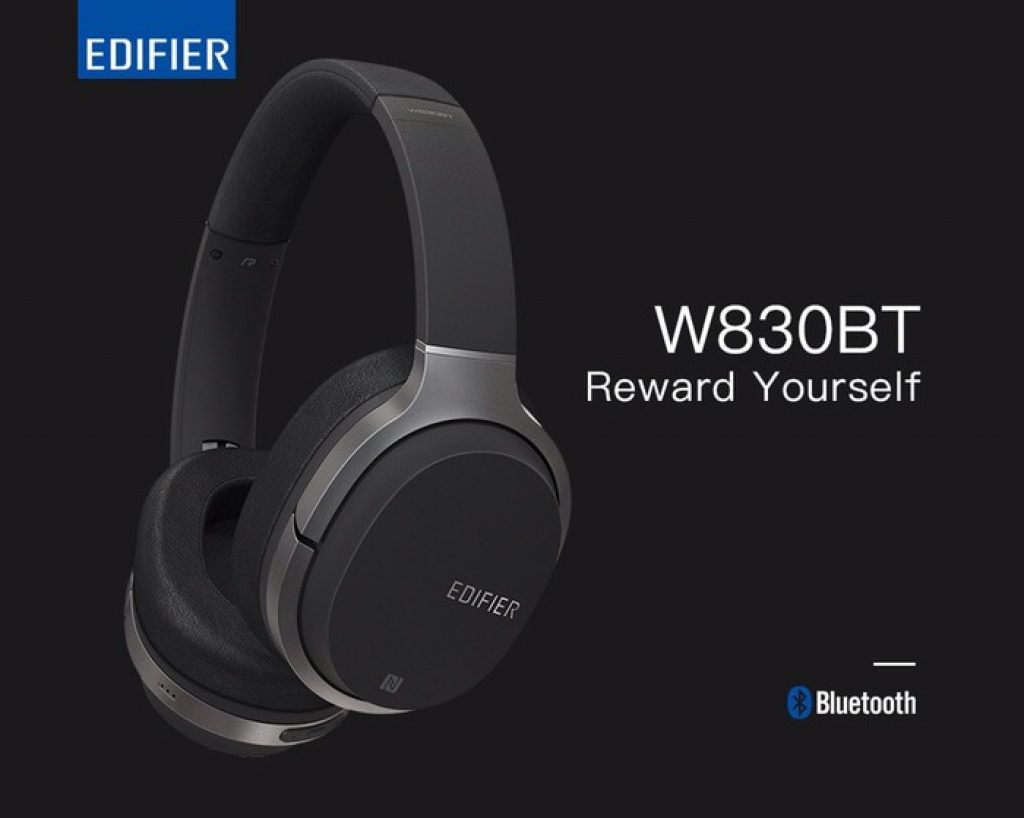 kupon, banggood, Edifier W830BT bluetooth 4.1 Nirkabel HIFI Headphone Kebisingan Isolasi