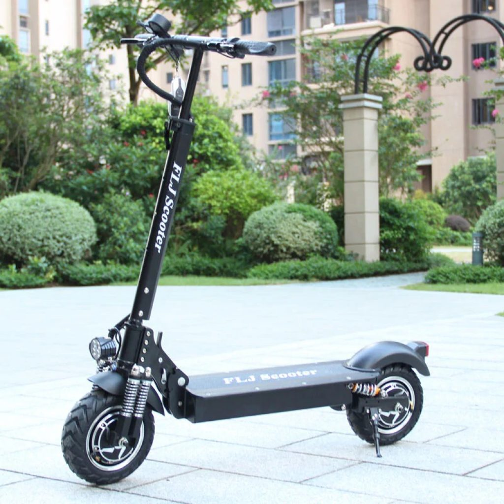coupon, gearbest, FLJ T11 2400W Dual Motor Electric Scooter