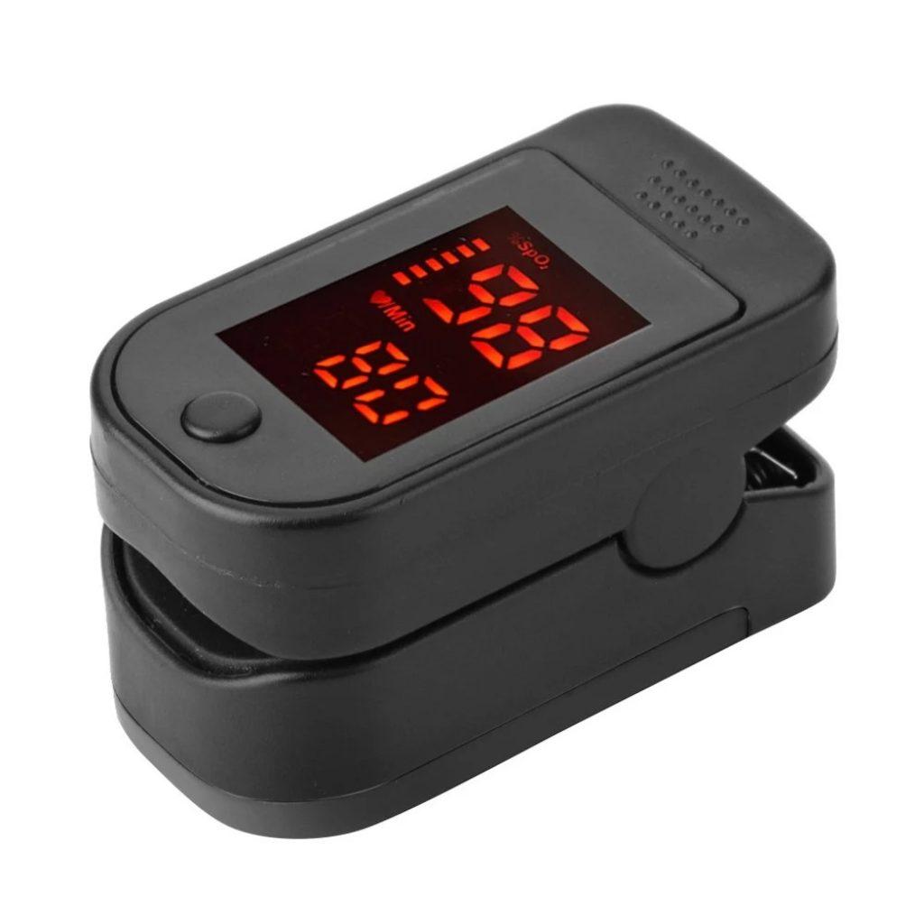 Kupon, Tomtop, Ujung jari Pulse Oksimeter LED Digital Display untuk Mengukur Denyut Nadi Oksigen Darah Pemantauan Bangsal Rumah Perawatan Kesehatan