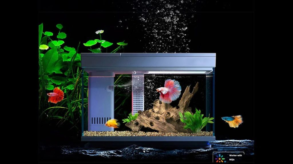 coupon, banggood, Geometry 15L 30L Smart Temperature Control AI Fish Tank Real Time Monitoring Of Water Quality Efficient Filtration APP Controls From Xiaomi Youpin