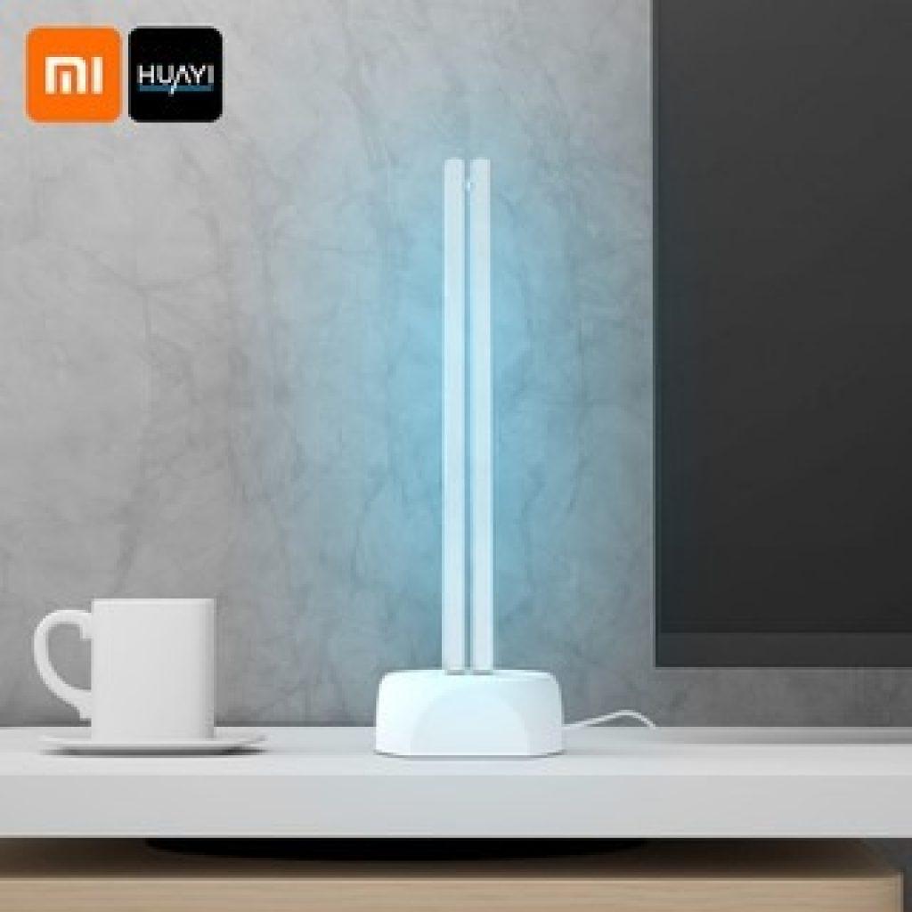 कूपन, गियरबेस्ट, Huayi 38W घरेलू यूवी ओजोन नसबंदी लैंप दोहरी प्रकाश ट्यूब पराबैंगनी कीटाणुशोधन कीटाणुशोधन टेबल लैंप 40f Xiaomi Youpin से क्षेत्र अजीवाणु