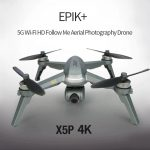 coupon, gearbest, JJRC X5P EPIK+ 5G WiFi FPV RC Camera Drone Quadcopter