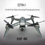 κουπόνι, gearbest, JJRC X5P EPIK + 5G WiFi FPV RC Κάμερας Drone Quadcopter